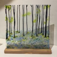 Bluebells Artwork by Melissa Keskinkilinc