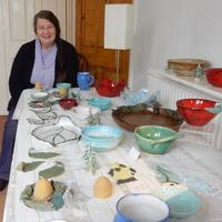 A RANGE OF MY WORK,BOWLS PLATTERS AND JUGS