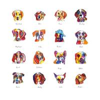 Dogs from my book 'The Legend of Dogdog!'
