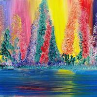 Magic Rainbow Wood