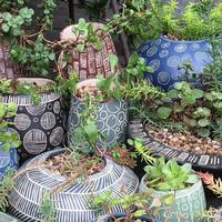 Selection of outdoor planters