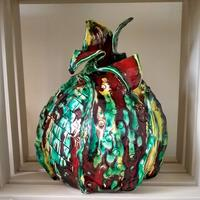 New Emerging Bud H28xW19cm £225 Collect only
