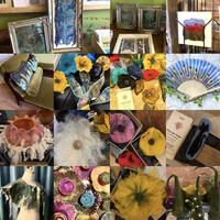 Selection of Felted Pieces, Penny Dixon Feltmaker and Textile Artist