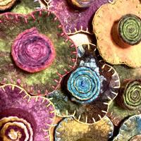 Allsorts Felted Brooches, Penny Jane Designs