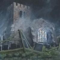 St. Peter's Church wreathed in mist