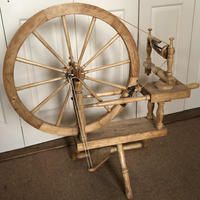 See Rosie on her Spinning Wheel