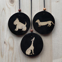 8cm pendants of dogs and other animals