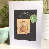 Greetings cards of my teabag art