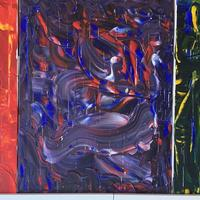 Moods - acrylic and dripped solder