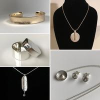 A selection of items I have designed and made including some commissioned pieces
