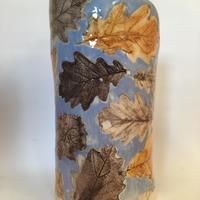 Oak Leaves Vase