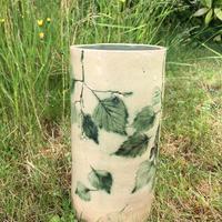 Tall Silver Birch Vase