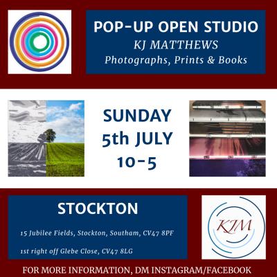 Pop Up Open Studio