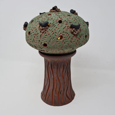 """Terracotta story tree -""""Home to Roost"""""""