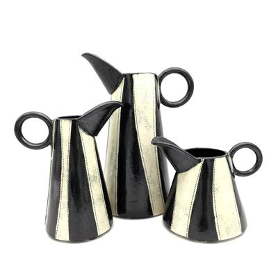 Black and White Jugs
