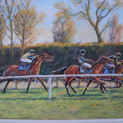 Returning to the start at Stratford races