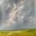Malvern Sky. Oil Painting 610 x 610mm