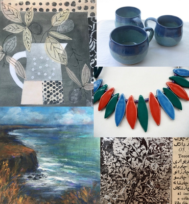 Works by Fiona, Iris, Jenny, Marie and Karen