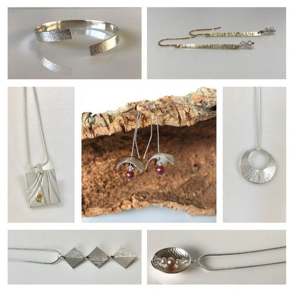 Gold and Silver Jewellery for Warwickshire Open Studios 2021