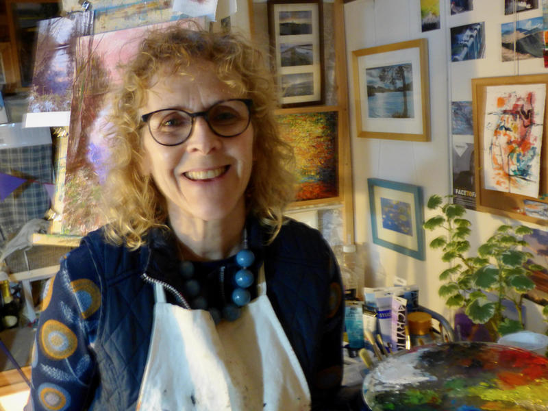 Fleur has a loft studio and loves to surround herself with inspiration