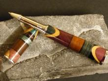 Eclectic mix Segmented woodturning