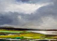 Malachite, 84cm x 60cm (available to purchase at www.andrewfieldfineart.com)