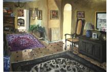 'Areley House Hall' - oil on canvas
