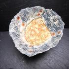 Impressed Porcelain Dish