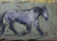 The Grey, 110 X 80 cm